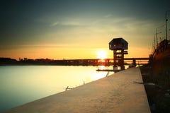 "Bridge across. The ""Moon River"" Ubonratchatani   province  Thailand Stock Photography"