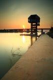 "Bridge across. The ""Moon River"" Ubonratchatani   province  Thailand Royalty Free Stock Photos"