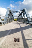 Bridge across the camel trail near padstow Stock Photo