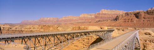Bridge Across the Colorado River Royalty Free Stock Photo