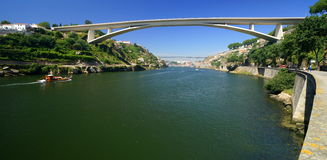 Bridge across the Douro River Stock Photography