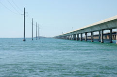 Bridge Across the Florida Keys Royalty Free Stock Photography