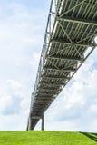 Bridge across the Mississippi Stock Images