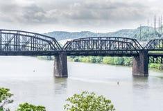 A Bridge Across the Monongahela Stock Photos