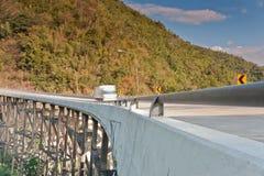 Bridge across the mountains, Thailand. Stock Photos