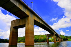 Bridge across PUlau Banding Royalty Free Stock Photography