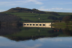 Bridge Across a Reservoir Stock Photos