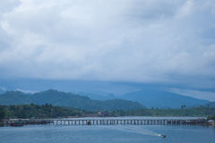 Bridge across the river. Stock Photography
