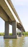 Bridge across the river Don Royalty Free Stock Image
