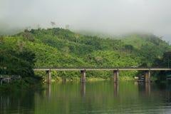 Bridge across river Royalty Free Stock Photos