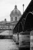 Bridge across the river Seine in Paris. Royalty Free Stock Photos