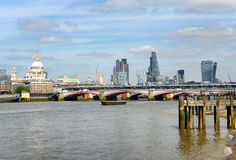 Bridge across the River Thames, London Stock Photo