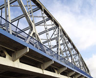 Bridge across the River Vistula Stock Photos