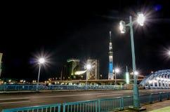The Bridge Across Sumida River from Asakusa Royalty Free Stock Image