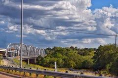 Bridge Ahead Stock Images