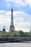 Bridge Alexander III. royalty free stock photos