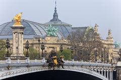 Bridge Alexander III. Paris, France. Royalty Free Stock Photos