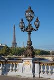 Bridge of Alexandre III in Paris Stock Photography