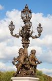Bridge of Alexandre III in Paris Royalty Free Stock Images