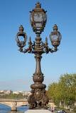Bridge of Alexandre III in Paris Royalty Free Stock Photo