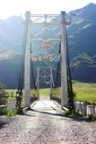Bridge Altai Royalty Free Stock Photography