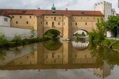 Bridge in Amberg Royalty Free Stock Image
