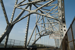 Bridge of the Americas Royalty Free Stock Photography