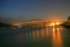 Bridge of the Americas. In Panama stock images