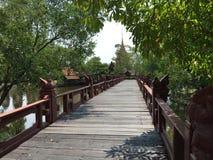 Bridge in Ancient Siam Stock Photography