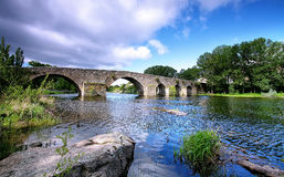 Bridge andver in,El barco de Avila Royalty Free Stock Photography