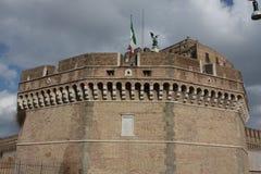 Bridge of Angles, Tiber - Rome Stock Image