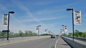 Bridge Approach Stock Images