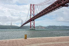 Bridge april 25, Lisbon Royalty Free Stock Photo