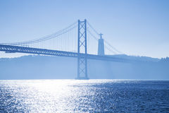 Bridge April 25 Lisbon Royalty Free Stock Photo