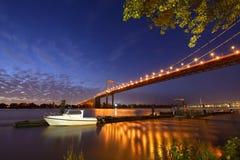 Bridge Aquitaine Royalty Free Stock Photo