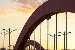 Bridge arch. The arch of Yifen bridge. This bridge is in Taiyuan, Shanxi, China Royalty Free Stock Image