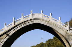 Bridge with arch architecture Royalty Free Stock Images