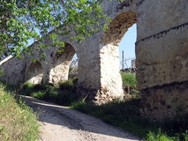 Bridge Arches. The arches of a bridge in Flasou, Cyprus Stock Photos