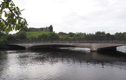 Bridge With Arches. Old stone bridge with arches in Ireland Royalty Free Stock Images