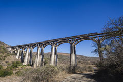 Bridge Arches Train  Royalty Free Stock Photography