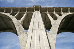 Bridge Architecture Detail Royalty Free Stock Images