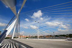 Bridge architecture, Putrajaya Stock Photo