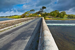 Bridge at Ardmore bay Royalty Free Stock Image