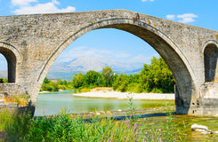 The Bridge of Arta, Greece Stock Images