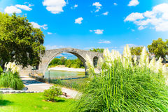 The Bridge of Arta, Greece Royalty Free Stock Photos