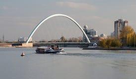 Bridge at Astana Stock Image