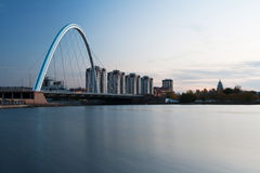 Bridge at Astana Stock Photos