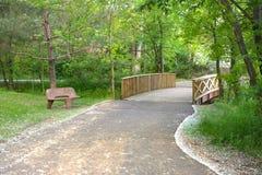 Free Bridge At The Park Stock Images - 10585584
