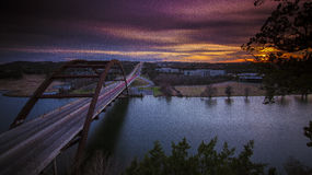 360 bridge of Austin,TX Royalty Free Stock Photography