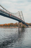 Bridge in autumn Royalty Free Stock Photography